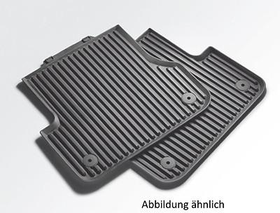 Audi Original Gummifußmatten hinten A3 8V ab 2013, Sportback und Limousine mit Clips