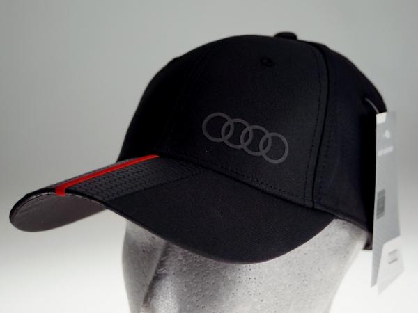 Audi Baseballkappe Premium, schwarz