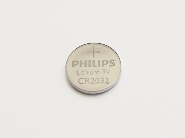Knopfbatterie CR2032 Minizelle 3V Lithium