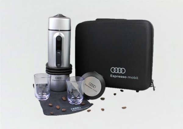 Audi Original Espresso Mobil für Kaffeekapseln