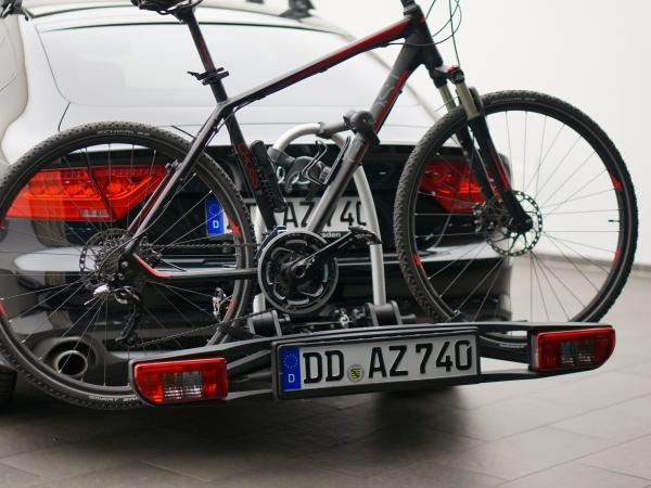 Audi Original Fahrradträger für Stahl-Anhängevorrichtung, klappbar