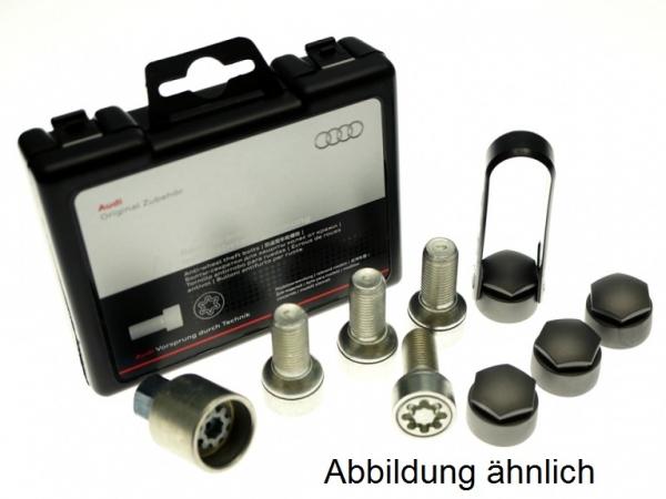 Audi Original Felgenschloß, Radschrauben zweiteilig mit Diebstahlhemmung