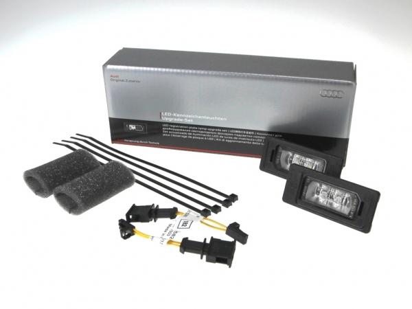 Audi LED Kennzeichenleuchten Upgrade-Set