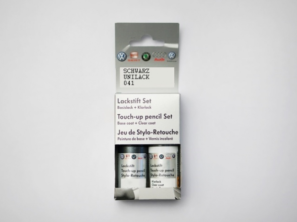 Lackstift-Set Schwarz Uni 041 L041