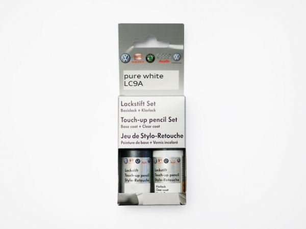 Lackstift-Set pure white LC9A C9A