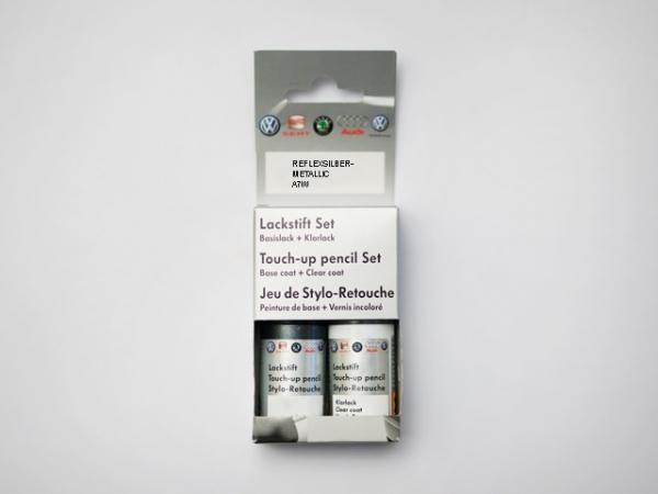 Lackstift-Set Reflexsilber-metallic A7W LA7W