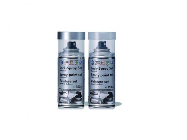 Lackspray-Set quarzgrau-metallic Y7G LY7G