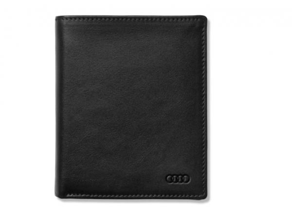 Audi Minibörse Leder, schwarz