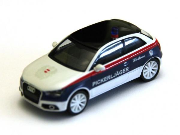 "Audi A1 Wörtherseetour Mottofahrzeug ""Pickerljäger"" 1:87"