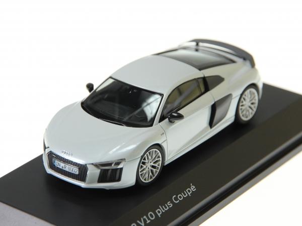 Audi R8 Coupé in Suzukagrau Maßstab 1:43