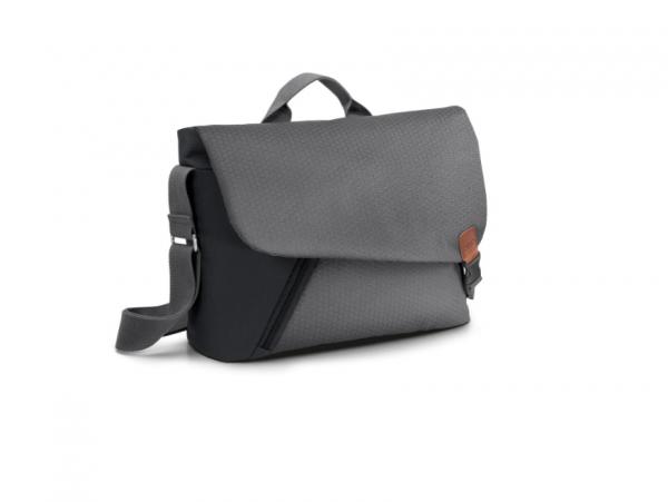 Audi Messenger Bag Smart Urban, schwarz/grau