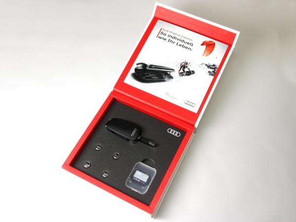 Audi Original Zubehör Geschenkbox 3-teilig
