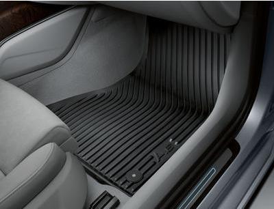Audi A6 4F Gummifußmatten vorne Fußmatten Audi Gummimatten vorne A6 4F Audi