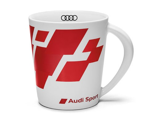 audi sport tasse 400 ml. Black Bedroom Furniture Sets. Home Design Ideas