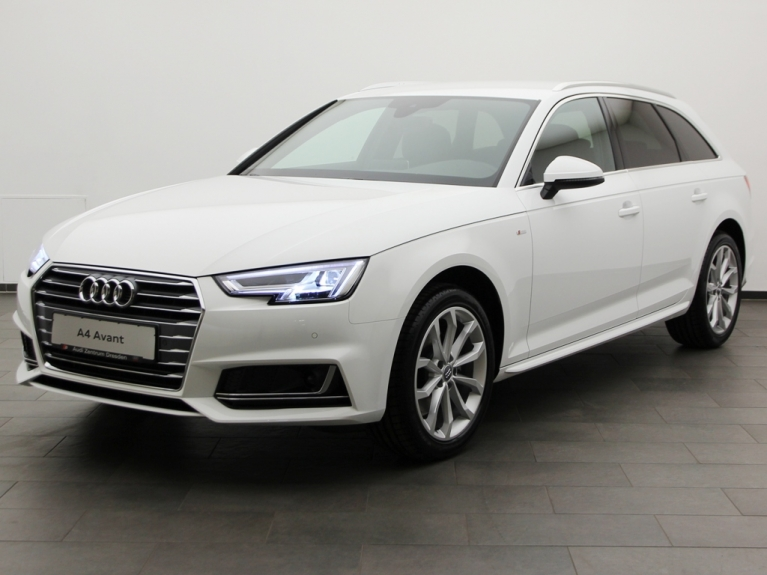 audi a4 avant 2 0 tdi s line s tronic in ibiswei mieten. Black Bedroom Furniture Sets. Home Design Ideas