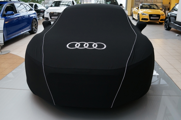audi original r8 spyder 2007 2015 car cover. Black Bedroom Furniture Sets. Home Design Ideas