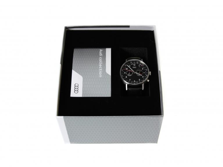 Audi Business Uhr Mit Kalenderwochen Anzeige
